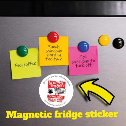 Magnetic-fridge-sticker
